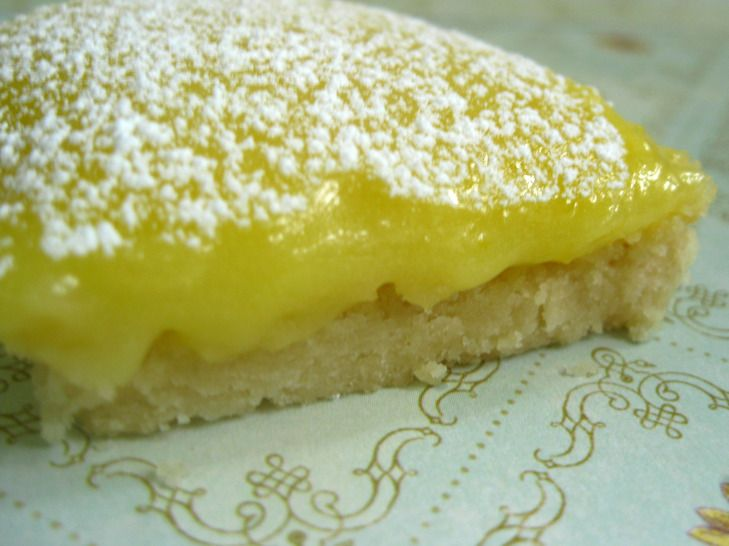 Lemon shortbread bars | Dessert and other sweet treats | Pinterest