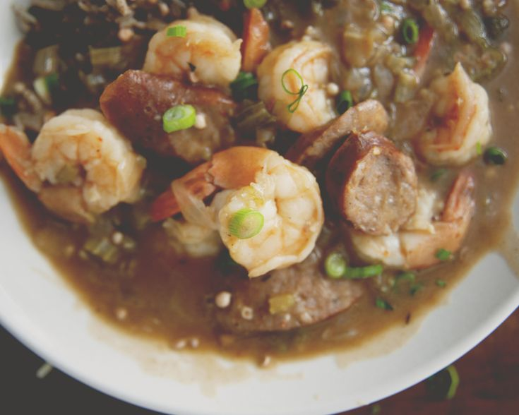 Shrimp & Andouille Sausage Gumbo - The Juice | Club W - For Pairing ...