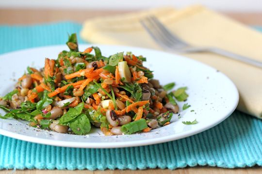 For the Love of Food: Summer Black-Eyed Pea and Spelt Berry Salad