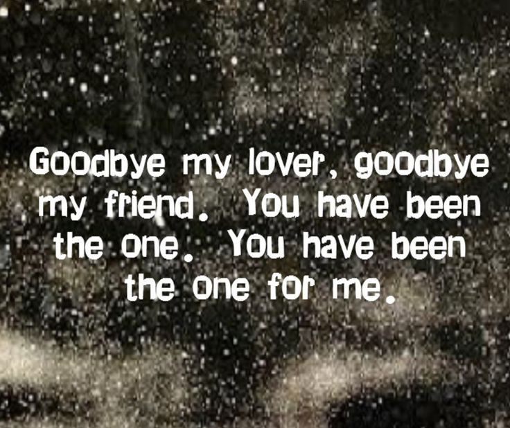 Good Bye My Love Quotes goodbye my love quotes . quotesgram