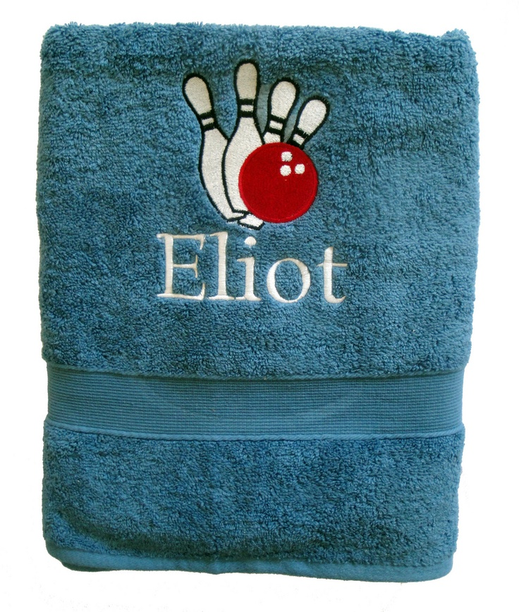 Bowling Towel - Personalized