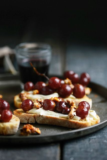 Roasted Feta Cheese With Fig-Thyme Compote Recipes — Dishmaps