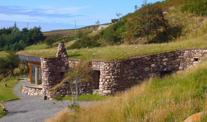 the brochs of coigach scotland houses buildings