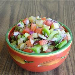 Tangy Rhubarb Salsa Allrecipes.com | Recipes | Pinterest