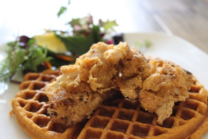 Paleo Chicken and Sweet Potato waffles | Food Lovin' | Pinterest