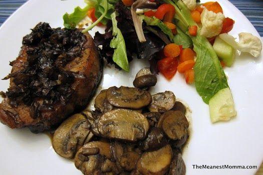 Balsamic Glazed Baked Pork Chops | Dinners | Pinterest