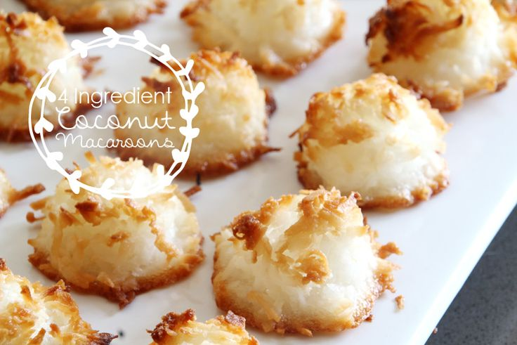Ingredient Coconut Macaroons | coconut, 3 egg whites, 1/2 cup sugar ...