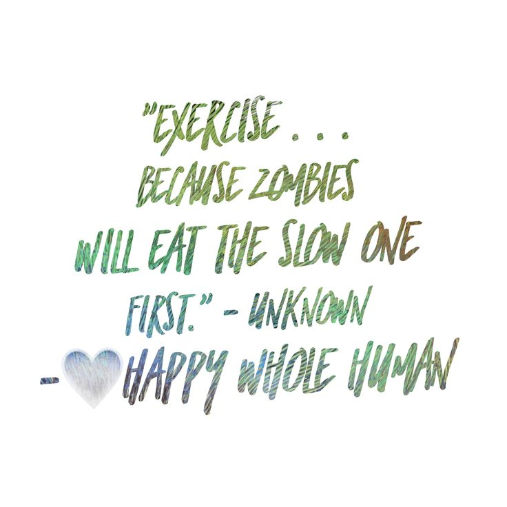 How zombies will improve your workout