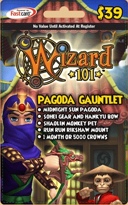 Pagoda Gauntlet Bundle | Wizard101 Free Online Game