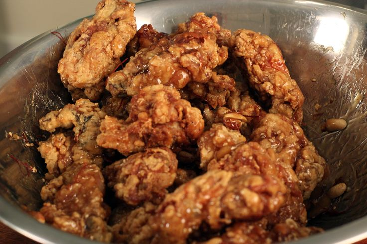 spicy korean fried chicken | Yum! | Pinterest