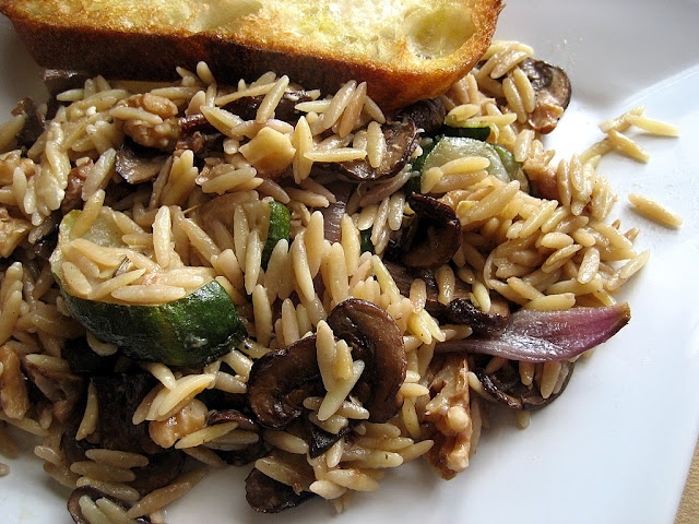 orzo with roasted veggies | Diet Recipes | Pinterest