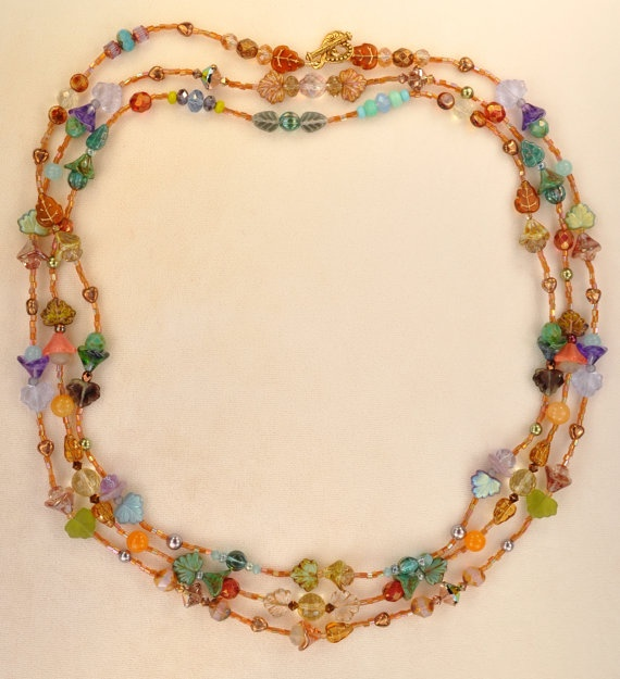 The Millefleur Necklace....ahhh....another dreamy piece of jewelry designed by Janet Morrison Minto, aka Janet Planet, designer and songwriter extraordinaire.
