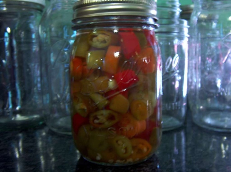 Pickled Hot Pepper Rings | Putting Food By | Pinterest