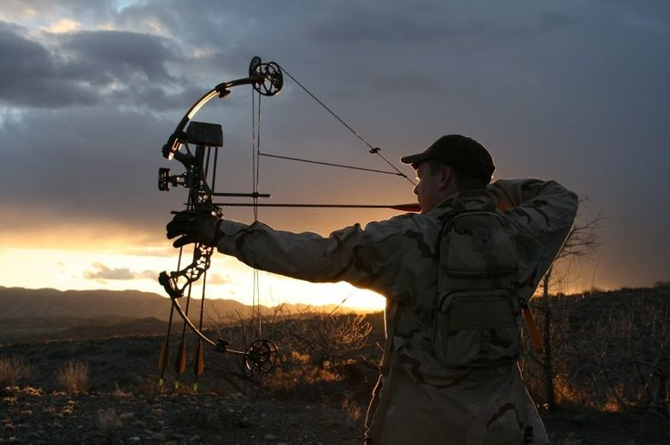 bow hunting.