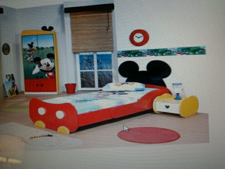 Best Mickey Mouse Toddler Bed Disney Creations Pinterest 400 x 300