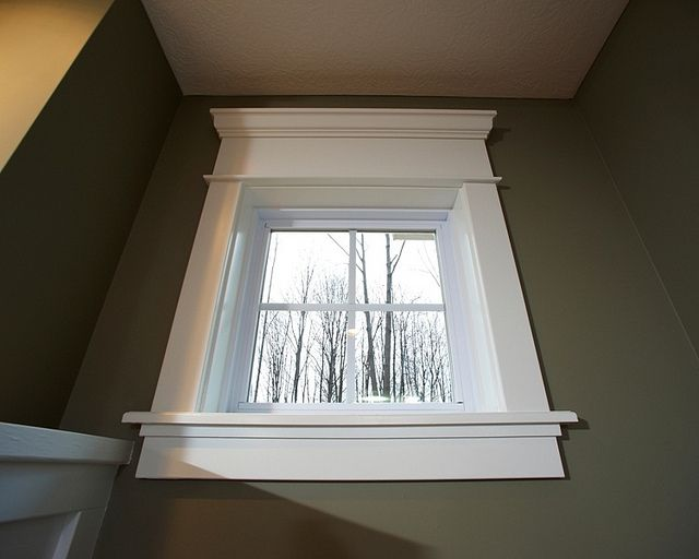 Craftsman Style Window Trim For The Home Pinterest