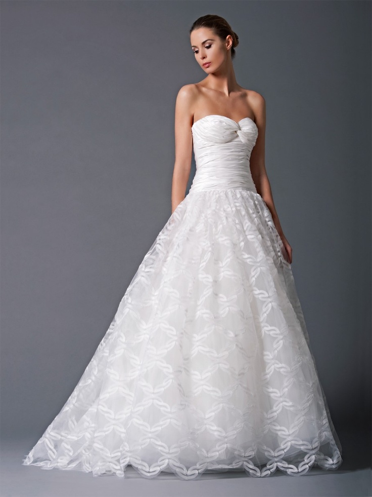 Wedding dresses at saks flower girl dresses for Saks wedding dresses