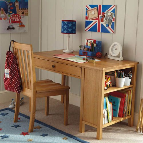 Columbus Oak Desk 500 x 500