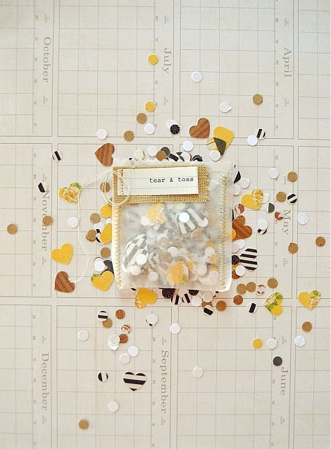 REVEL: Tear and Toss Confetti Bags