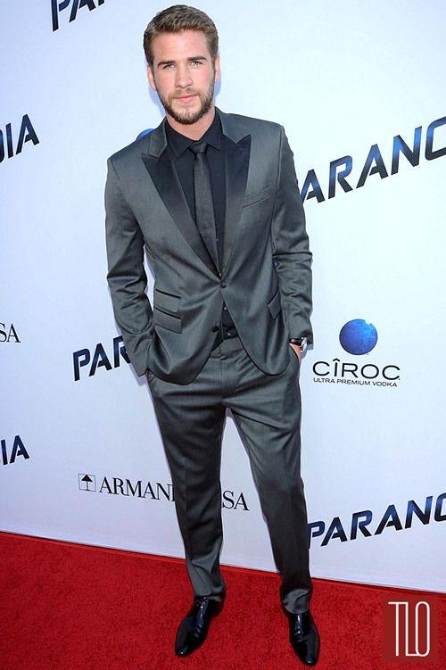 suitsLiam Hemsworth Paranoia Suit