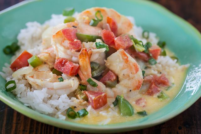 Coconut Curry Shrimp with Coconut Rice. | Healthy VEGETARIAN Living ...