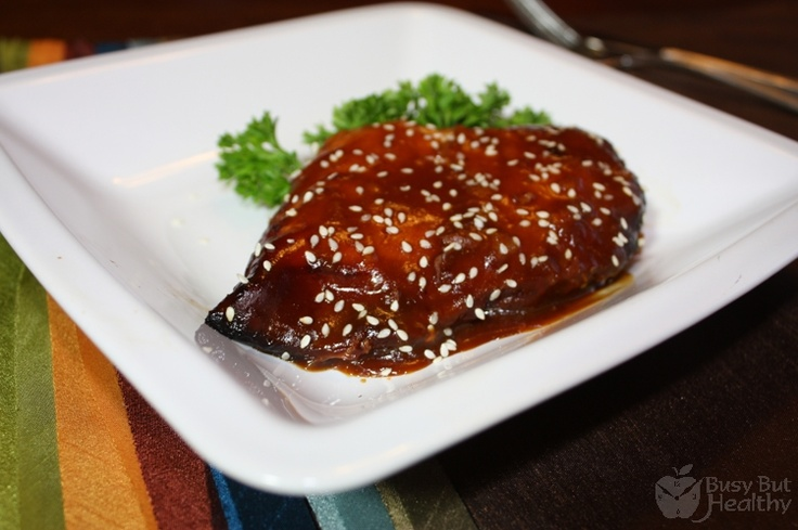 Sesame Orange Chicken (a bit spicy for me, will reduce the amount of ...