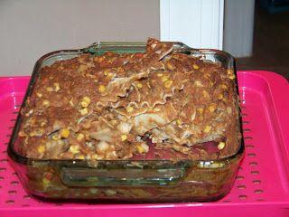 Pink-Vegan: Refried Bean Casserole | Plant based/vegan food | Pintere ...