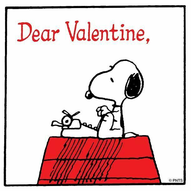 peanuts valentine's day clip art