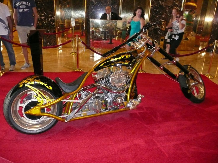 Trump Tower--Bike built for Donald by Paul at American Chopper