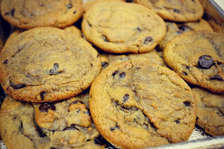fresh chocolate chip cookies from great american cookies