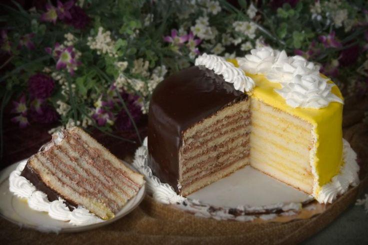 Chocolate Doberge Cake Recipe