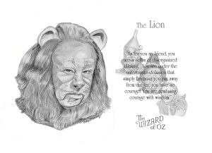 wizard of oz quotes lion