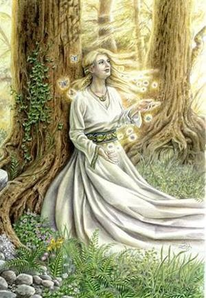 Confessions of Crafty Witches Imbolc Craft:Brigit's Bed http://www