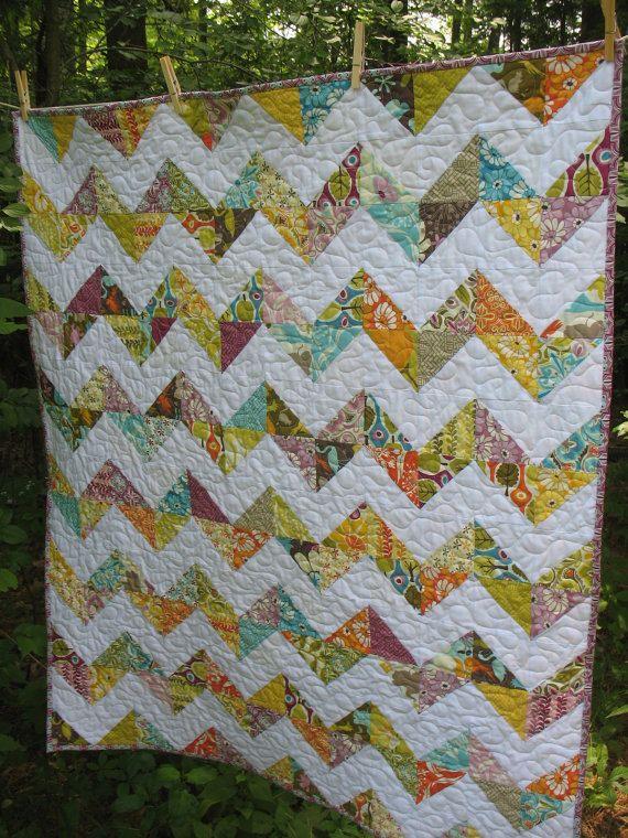 Quilting Designs For Chevron Quilts : chevron quilt pattern quilts # 5 Pinterest