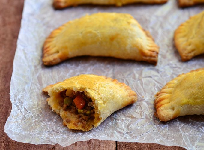 Veganize it: Beef Empanada. Sub vegan beef crumbles and make easy by ...