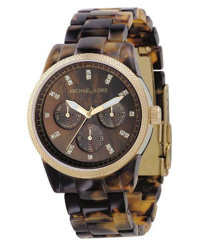 Michael Kors Ritz Tortoise Watch