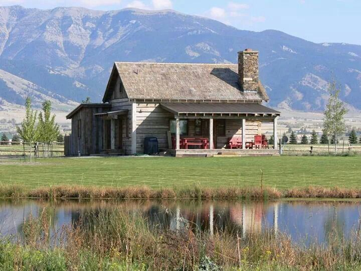 Montana cabin cabins pinterest for Cabin builders montana