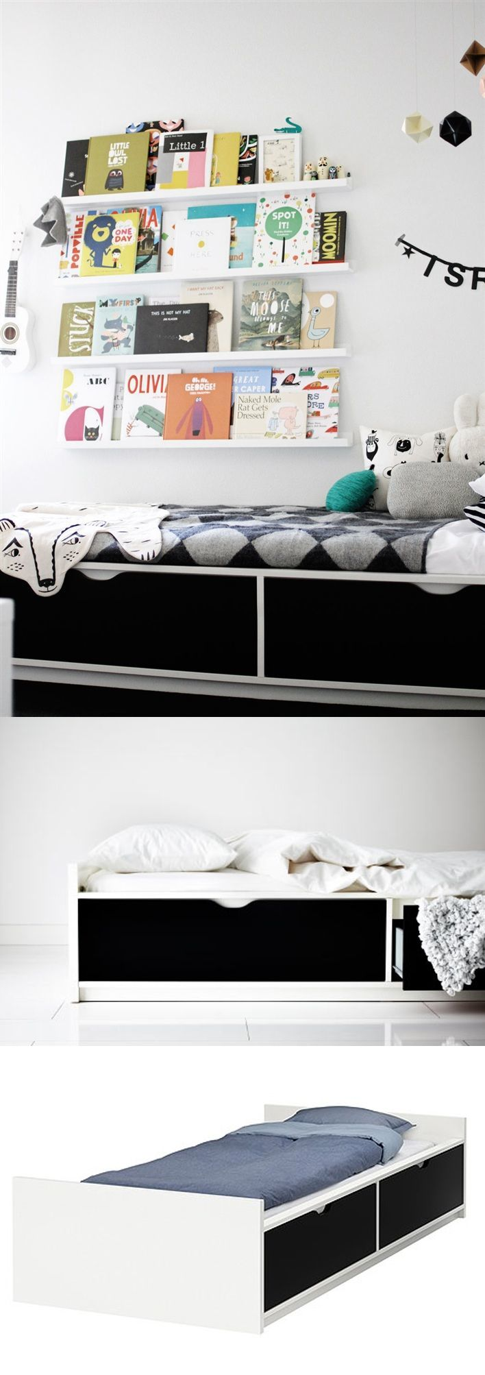 Ikea Teppich Polypropylen Schadstoffe ~ Flaxa Bed Frame With Storage Ikea The 2 Large Drawers Give You An