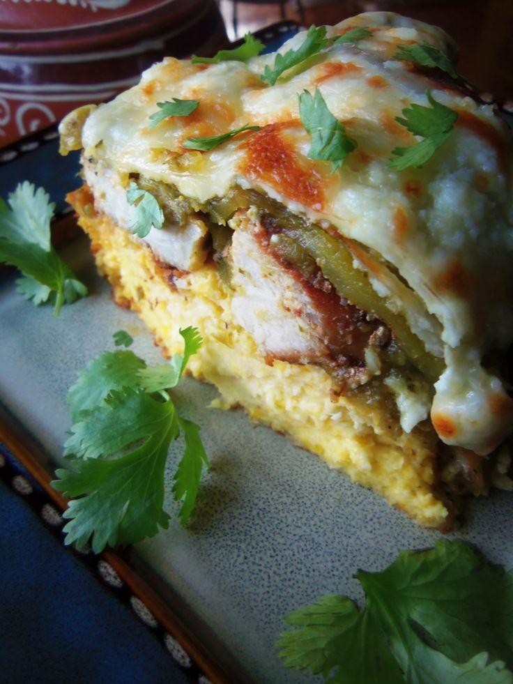 Salsa Verde Carnitas Tamale Pie – Hispanic Kitchen