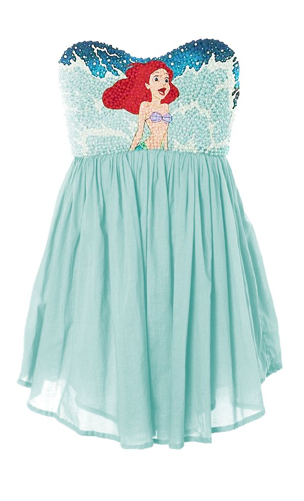 Little Mermaid Dress.
