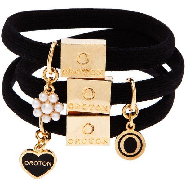 fascino charm hair elastics | Oroton Luxury Accessories .. oroton