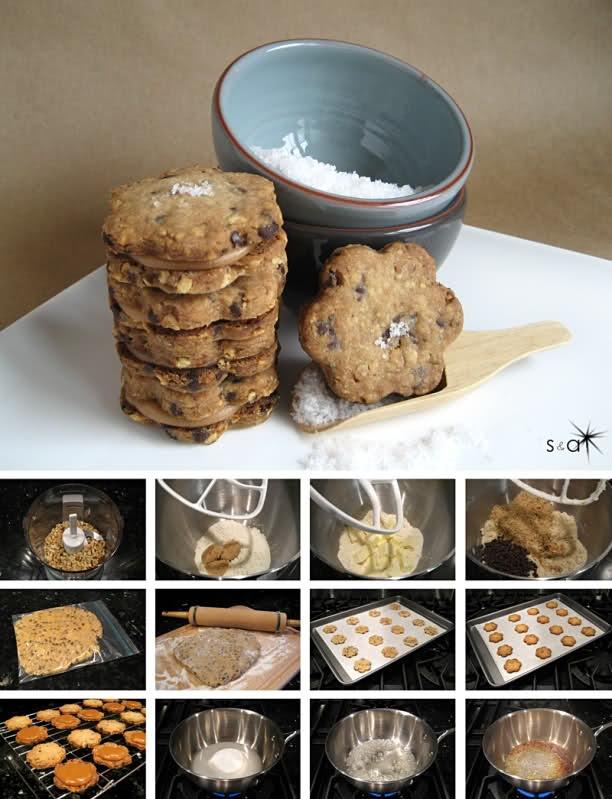 Hazelnut Fleur De Sel Caramel Shortbread | Eat, Drink & Be Merry | Pi ...