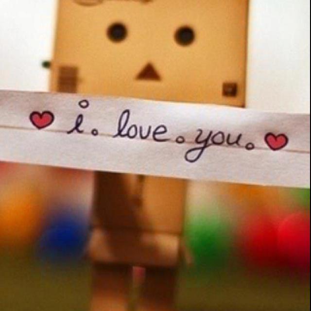 I L O V E Y O U ! ! ❤
