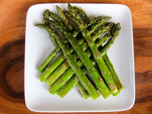 oven roasted asparagus! easy and habit forming! (I use the same recipe ...