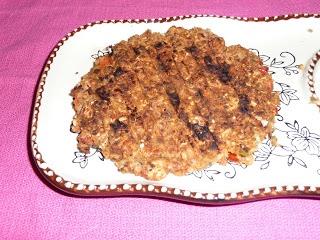 Pink-Vegan: Pinto Bean Rice Burgers   Vegetarian Holiday Recipes   Pi ...