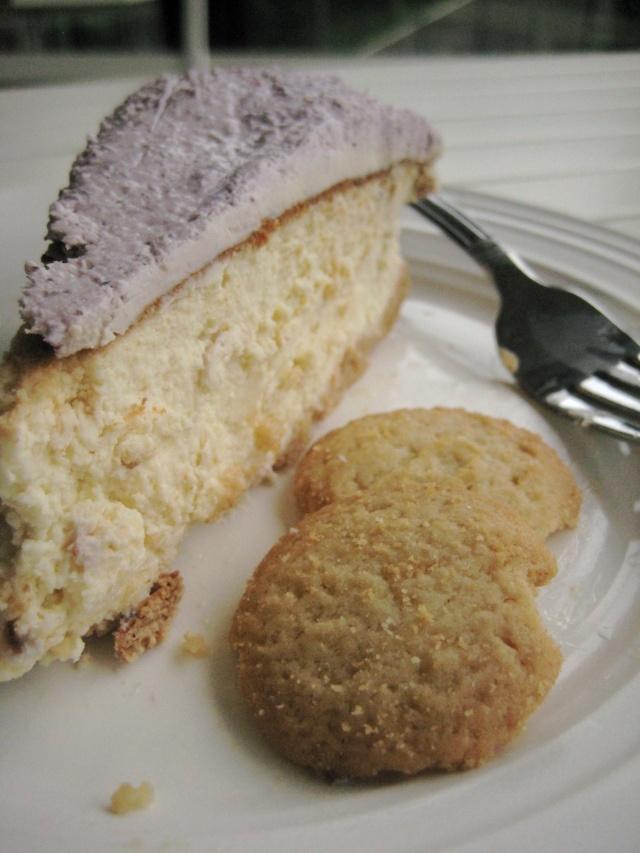 lavender honey cheesecake | did I say..... I love lavender?.... | Pin ...
