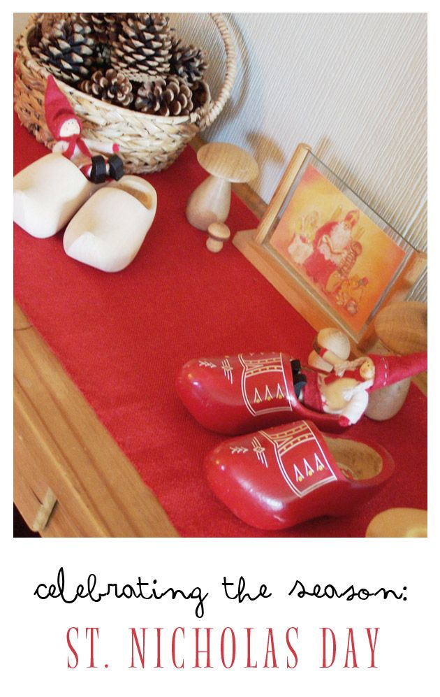 Some lovely traditions for celebrating St. Nicholas Day…