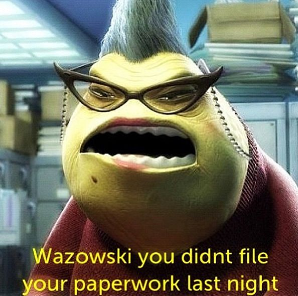 Monsters Inc Roz Quotes Monsters incQuotes From Monsters Inc