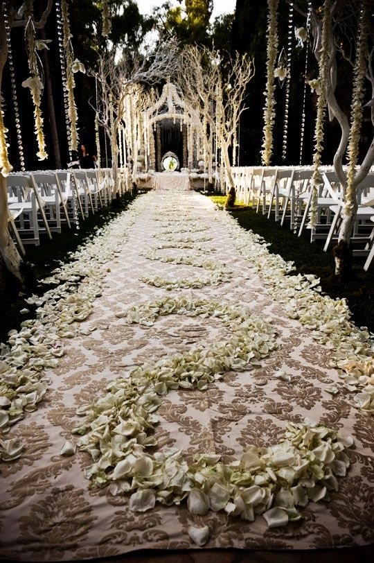 wedding aisle dream wedding pinterest