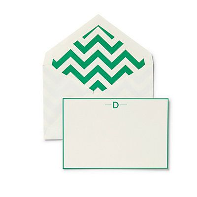 Love this Monogram Chevron Stationery Set for $10 on C. Wonder